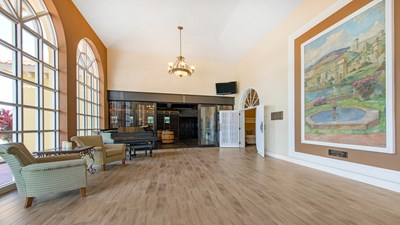 Lobby at Hodges Funeral Home at Naples Memorial Gardens