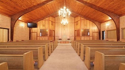 Chapel at Garrett Funeral Home