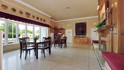 Catered Reception Suite at Andrew J. McGann & Son Funeral Home