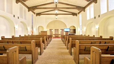 Chapel at Butterworth Funeral Home – Arthur A. Wright Chapel