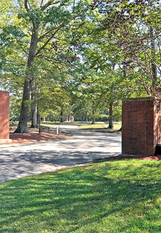 Entrance at Bermuda Memorial Park