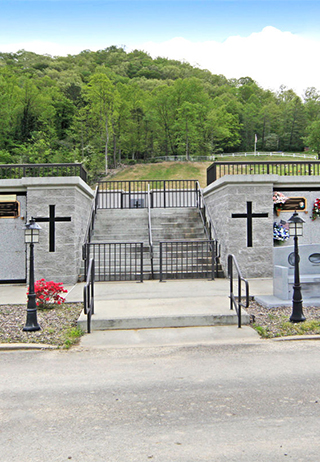 Entrance at Mountain View Memory, KY