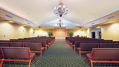 Chapel at Gross Funeral Home