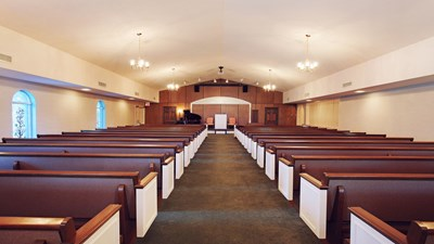 Chapel at Griffin Leggett Conway Funeral Home