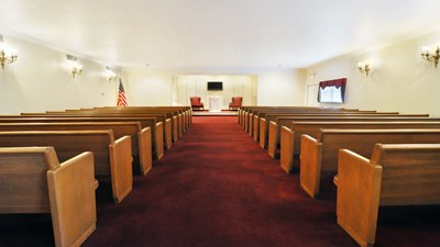 Chapel at Anderson - Clayton Bros. Funeral  Home