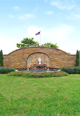 Entrance at Glen Haven Memorial Park