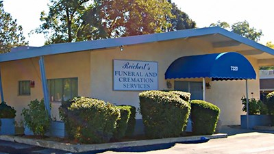 Front exterior at Reichert's Funeral & Cremation Services