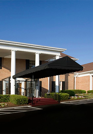 Front exterior at Chattanooga Funeral Home, Crematory & Florist-East Chapel
