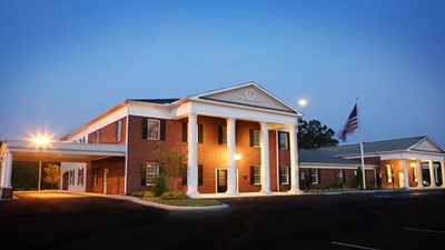 Front exterior at Chattanooga Funeral Home, Crematory & Florist-East Brainerd Chapel