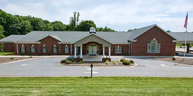 Front exterior at Drum Funeral Home - Hickory