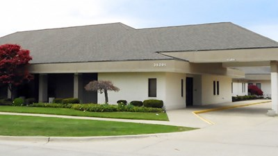 Front exterior building at Kaul Funeral Home