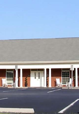 Front exterior at Stubblefield Funeral Home