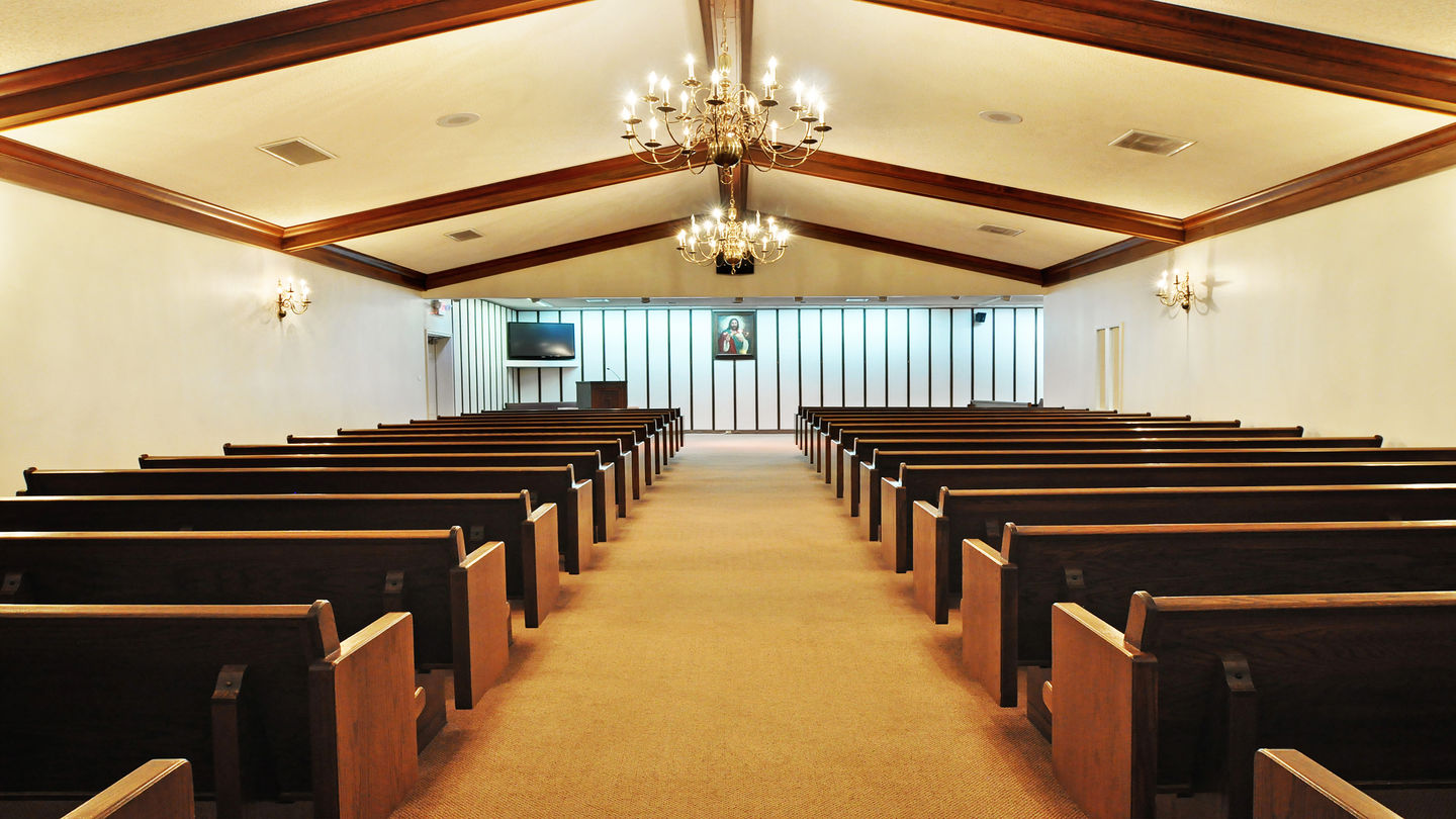 Chapel at Anderson-Clatyon Bros. Funeral Home