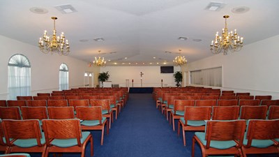 Chapel at Baldwin Fairchild Funeral Home