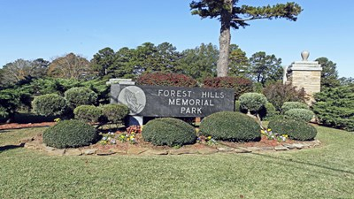 Signage at Forest Hills Cemetery