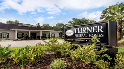 Signage at Turner Funeral Home