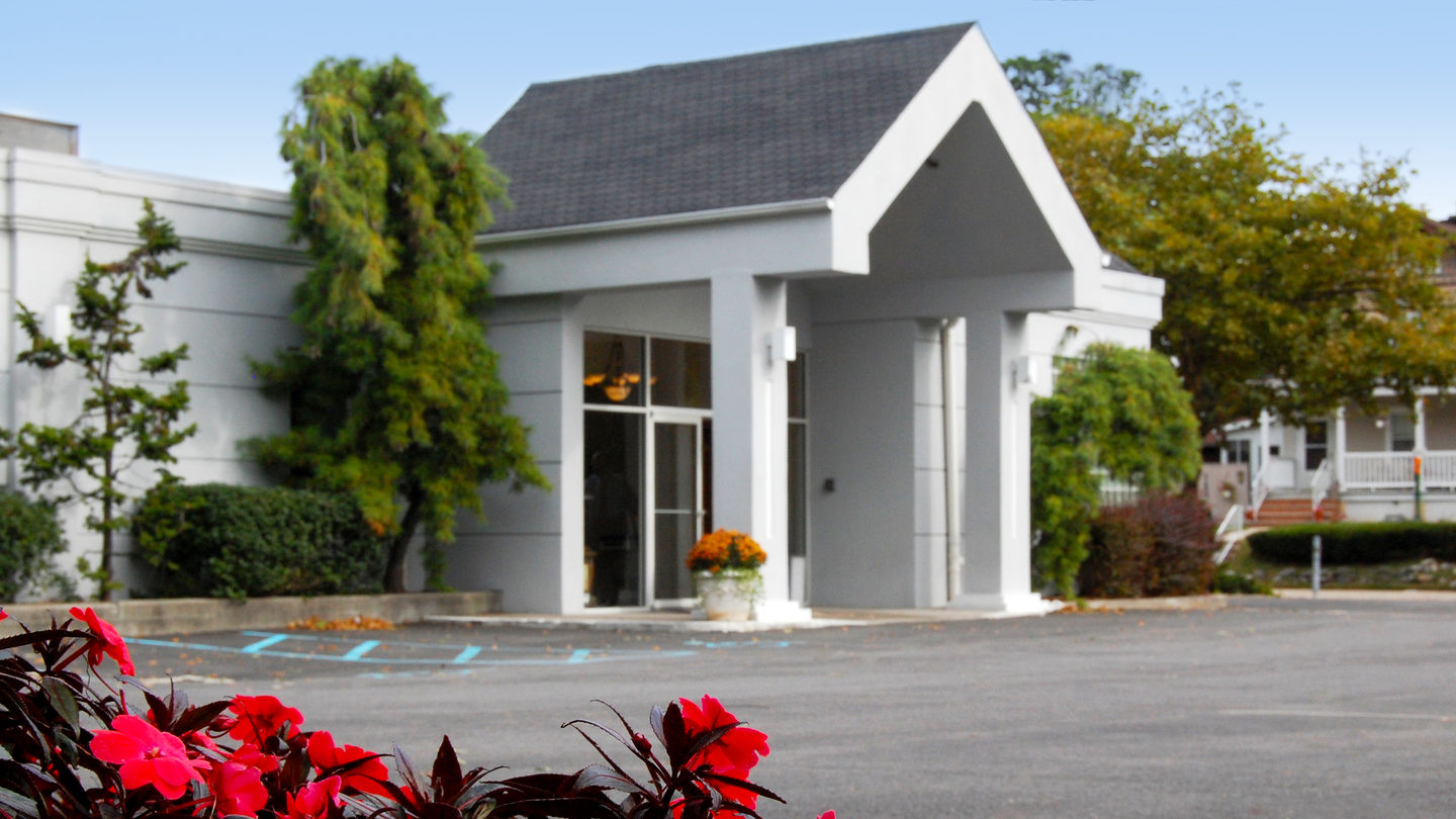 Front exterior at Casey McCallum Rice South Shore Funeral Home
