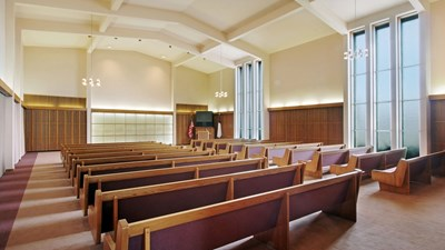 Chapel at Ball & Dodd Funeral Home