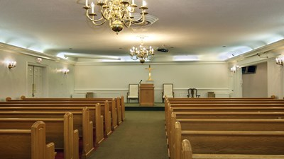 Chapel at Coble Ward-Smith Funeral & Cremation Service