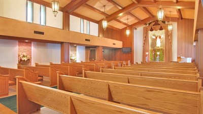 Chapel at Lima Family Erickson Memorial Chapel