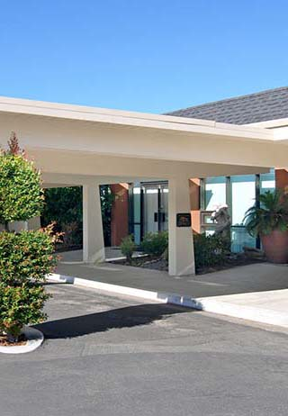 Front exterior building at Lima Family Milpitas-Fremont Mortuary