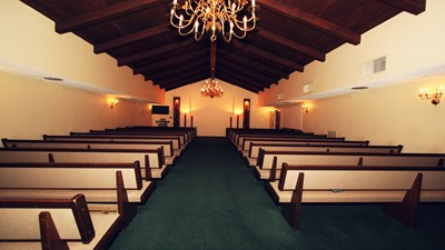 Chapel at Bastian and Perrott, Oswald Mortuary