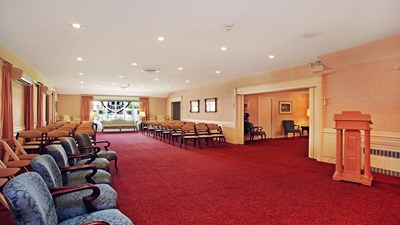 Chapel at Swan Funeral Home