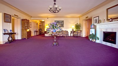Lobby at Mount Pleasant Universal Funeral Home