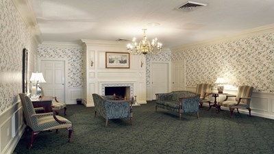 Lobby at Alexander Funeral Home-North Chapel