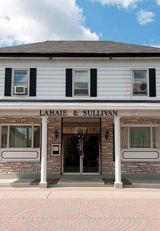 funeral parlors acquired that name because