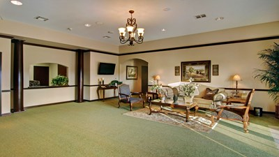 Lobby at Restwood Funeral Home
