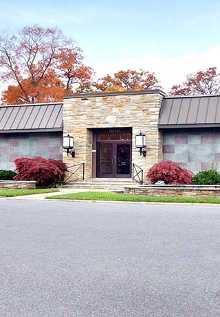 Front exterior building at Sterling-Ashton-Schwab-Witzke Funeral Home of Catonsville, Inc.