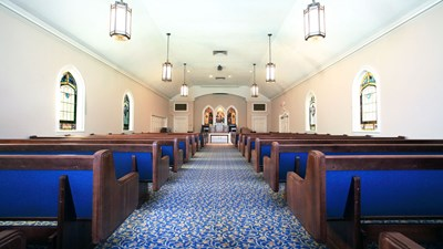 Chapel at Elliott Sons Funeral Home