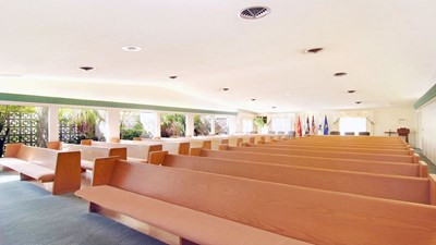 Chapel at Aycock Funeral Home