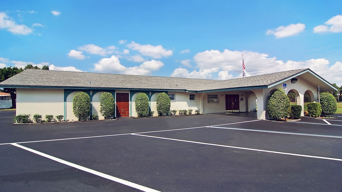 Front exterior building at Wilder Funeral Home