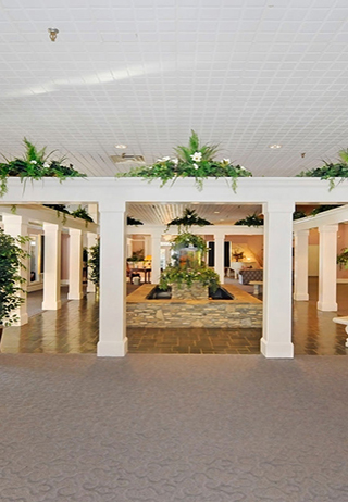 Lobby at Heady-Hardy Funeral Home