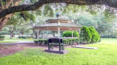 Arbor Gazebo at Greenoaks Memorial Park