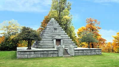 Rucker Mausoleum at Evergreen Cemetery