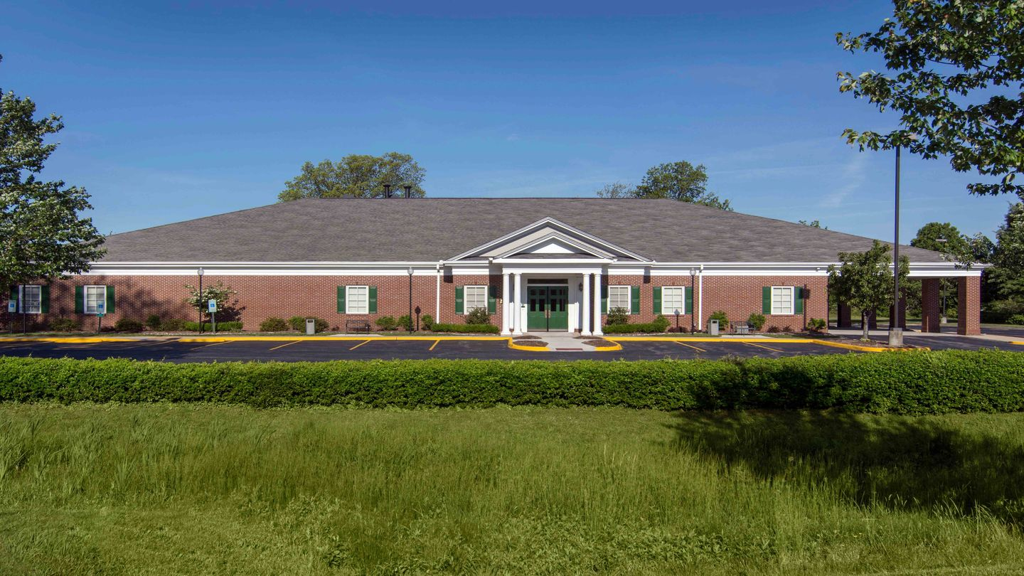 Front exterior at Parklawn-Wood Funeral Home
