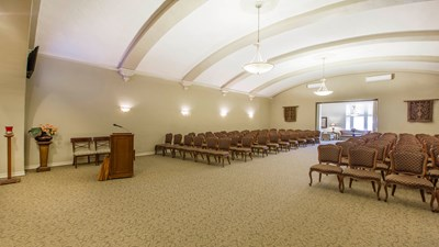 Chapel at Erickson-Anderson Mortuary