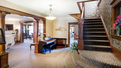 Lobby at Gorsline Runciman Funeral Homes