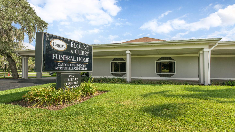 blount curry funeral home at garden of memories - Garden Of Memories Tampa