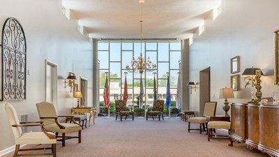 Lobby Advantage Funeral Home and Cremation Services Hardy Chapel
