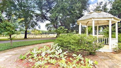 Special landscaping feature at Tyler Memorial Funeral Home - Cemetery and Mausoleum