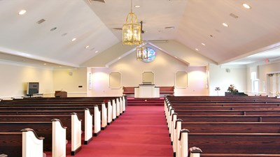 Chapel at Caughman-Harman Funeral Home - Lexington Chapel