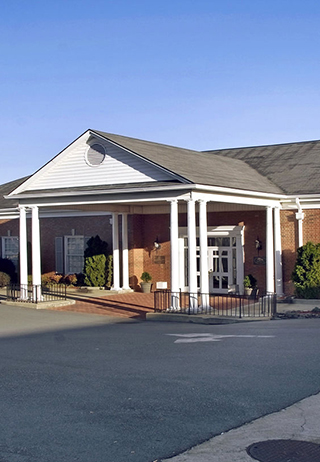 Front exterior at Hanes Lineberry Funeral Home