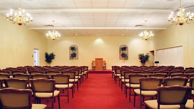 Chapel at Hanes Lineberry Funeral Home