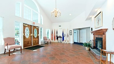 Lobby at Wanamaker & Carlough Funeral Home