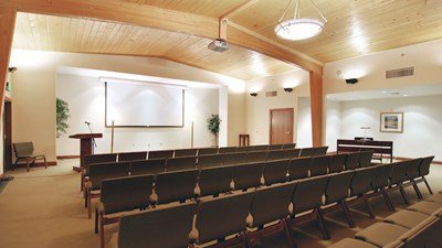 Chapel at Bateman Carroll Funeral Home