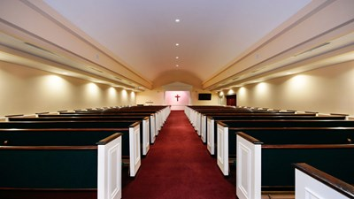 Chapel at Earthman Southwest Funeral Home